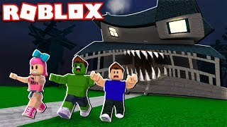 Das MONSTER HOUSE WILL EAT US bei ROBLOX