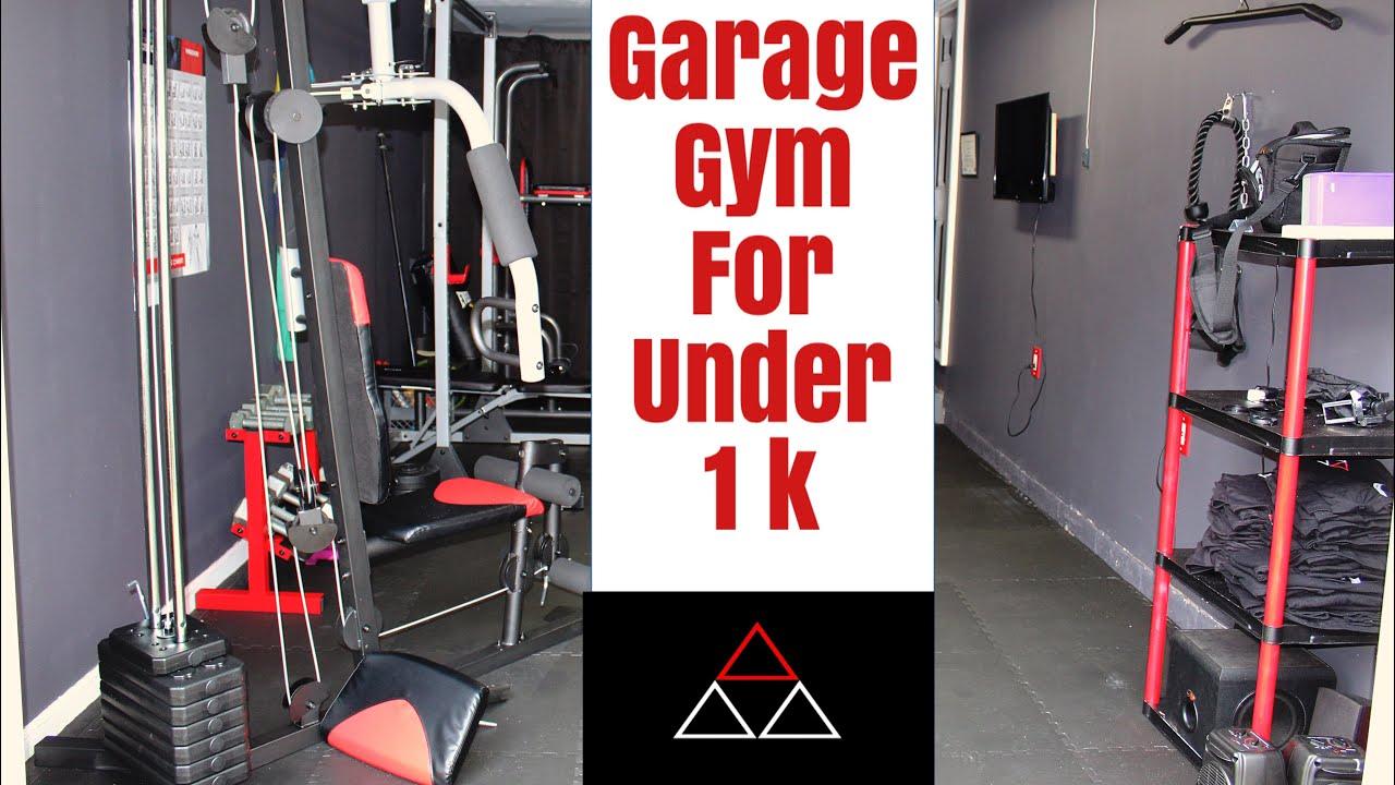 Budget garage gym under 1k youtube