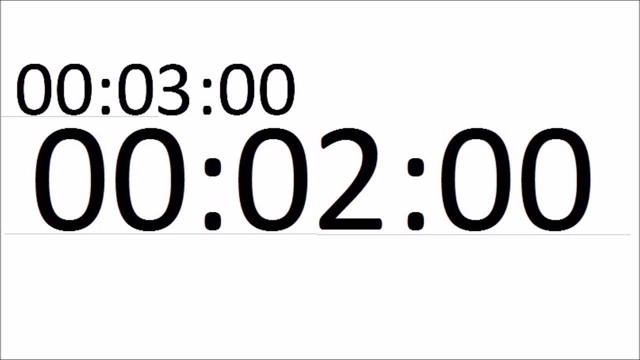 chronometre - compte a rebours 5 minutes