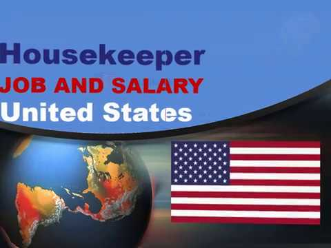 Housekeeper Salary In The United States - Jobs And Wages In The United States