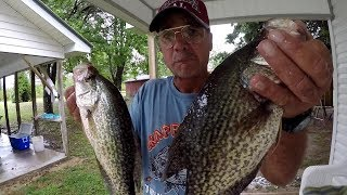SLAB CRAPPIE!!! How A Sudden Change In Weather Conditions Affect Crappie