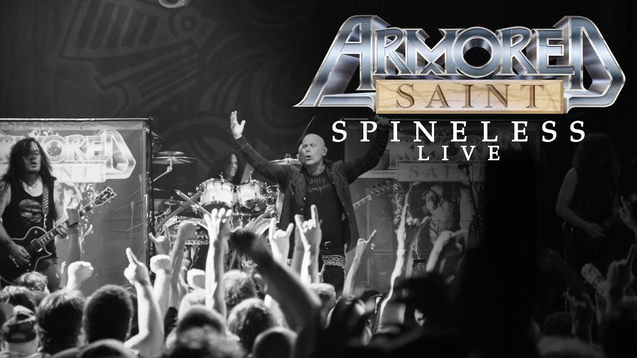"""Armored Saint - Spineless (From """"Symbol of Salvation Live"""")"""