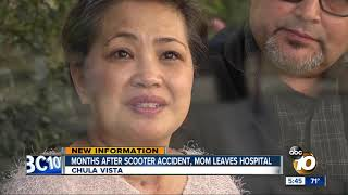 69 days after near-death scooter accident, Chula Vista mom goes home