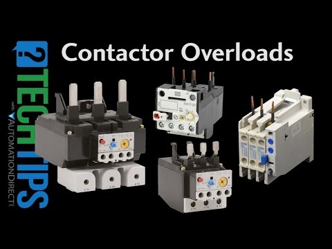 Contactor And Overload Wiring Diagram Single Phase Baldor Motor Connection How To Wire Up An Auxiliary Contact On A Youtube 5 02