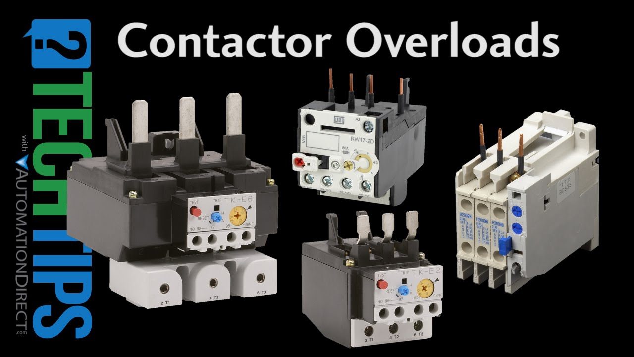 Tech Tip: How to Select and Use Contactor Overload Protectors - YouTube