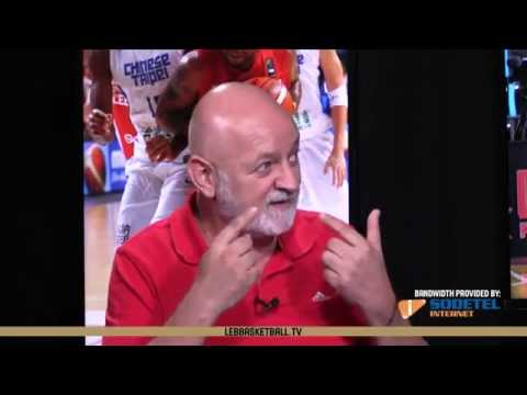 2015 FIBA Asia - Post Game Analysis - Coach Ghassan Sarkis - Chinese Taipei VS Lebanon
