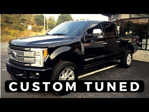 Custom tunes are a must for your diesel....and a delete kit