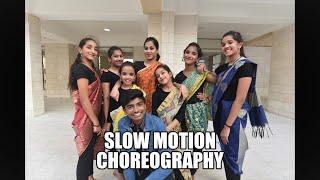 Slow motion | Dance choreography |Bharat|F factor dance studio..