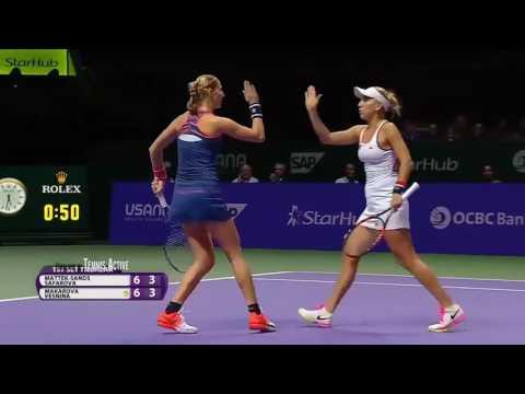 Elena Vesnina & Ekaterina Makarova vs Lucie Safarova & Bethanie Mattek Sands