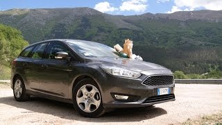 Ford Focus 4 - Движение с комментариями по дорогам Италии