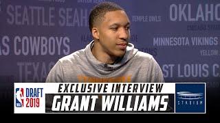 NBA Draft Prospect Grant Williams Sits Down With Shams Charania | Stadium