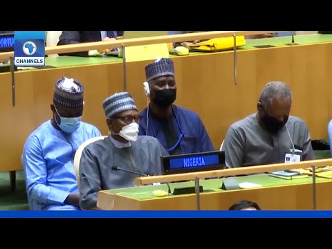 Buhari Joins Other World Leaders As 76th UNGA Opens