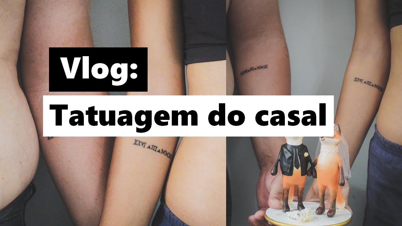 Tatuagem Do Bts: Vlog: Tatuagem Do Casal