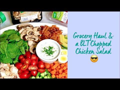 BLT Avocado-Ranch Chopped Salad