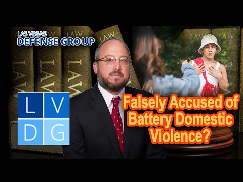 Falsely Accused of Battery Domestic Violence?