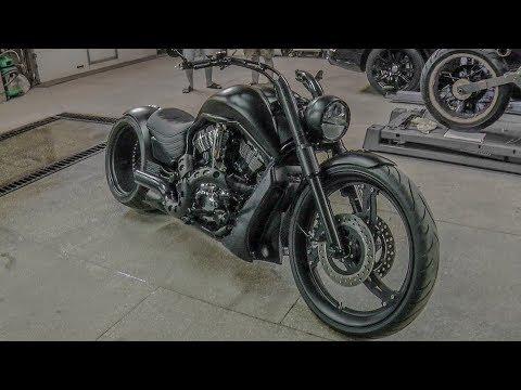 ТЫ НЕ СМОЖЕШЬ НЕ ОБЕРНУТЬСЯ!! Тест драйв Кастом проекта Harley Davidson V-rod #Докатились!
