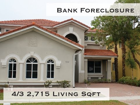 Bank Foreclosure 4 Beds 3 Baths Home for Sale Lake Worth, Florida