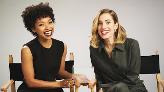 """The Cast Of """"The Perfection"""" Plays Horror-Themed Would You Rather"""