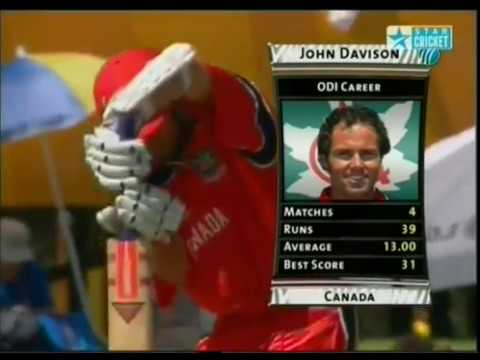 John Davison 111 vs West Indies at World Cup 2003 Fastest WC Century at that time !!