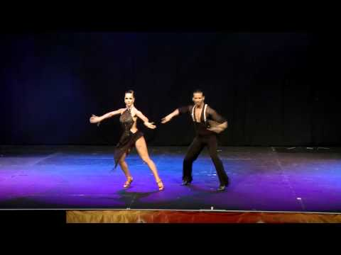 Adrian and Anita performance at the 2012 Sydney Latin Festival