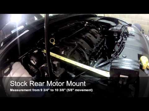 cp-e™ Ford Focus ST Rear Motor Mount vs. Stock mount