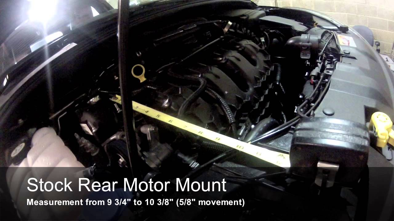 cp-e™ Ford Focus ST Rear Motor Mount vs. Stock mount - YouTube