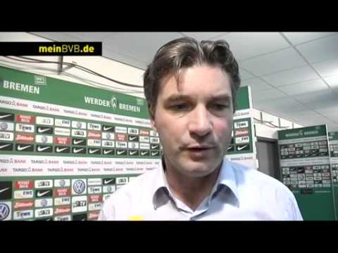 Werder Bremen - BVB: Interview mit Michael Zorc