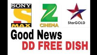 Good news DD free dish me New channel update