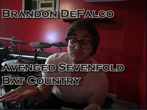Brandon Defalco Avenged Sevenfold Bat Country Drum Cover Youtube