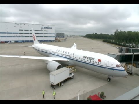 Air China Gets First Boeing 787-9 Dreamliner Delivery