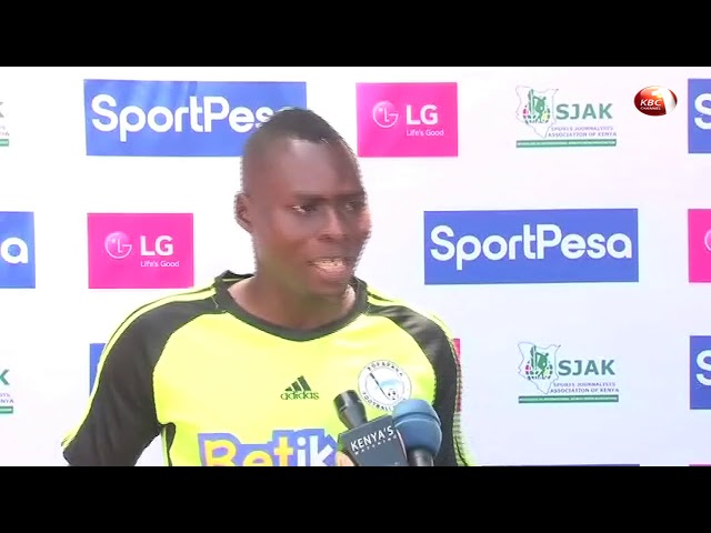 Sofapaka's Justin Ndikumana is the Sportpesa/LG Player of the Month