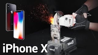 pha huy iphone x  destroy iphone x