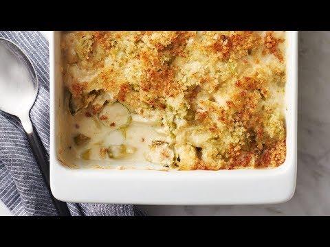 Cheesy Brussels Sprouts Casserole | Betty Crocker Recipe