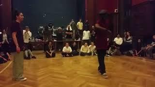 Leila boogie Vs philboog (Bad Dogz)_ finale poppin Battle J.A.I.A 2017