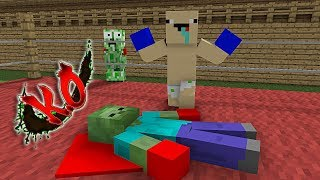 - Monster School Boxing With No Rules Minecraft Animation