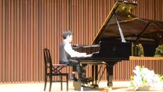 """トモマニノフ(9歳)playsワルトシュタイン第3楽章(ベートーベン)/9year old Tomomaninov plays Beethoven """"Waldstein"""" 3rdmovement."""