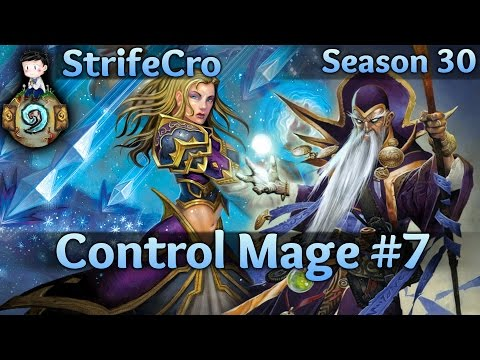 Hearthstone Control Mage S30 #7: Comeback is Win Condition