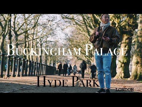 《腳踏歐洲》白金漢宮Buckingham Palace | Hyde Park