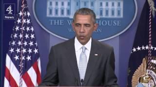 President Obama speaks on Paris terror attacks