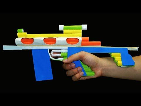 DIY Paper Guns Life Hacks - DIY Projects Paper Sniper Rifle Tutorial with Jason
