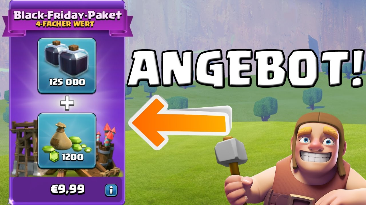 Black Friday Angebot Black Friday Angebot Clash Of Clans Let S Play Coc Deutsch German Hd