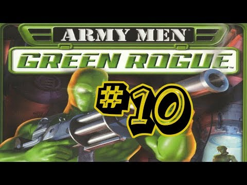 Army Men Green Rogue #10 - Laying Low