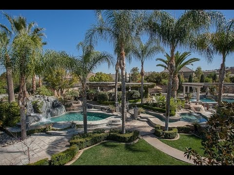 Luxury Estate In Southern California, Gated, Private: 2402 Cross Street!