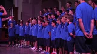 Хор мальчиков Les Petits Chanteurs à la Croix d'Azur de Bordeaux