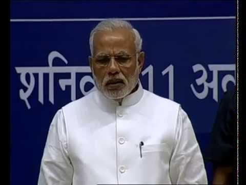 PM Modi releases book 'Virat Purush - Nanaji Deshmukh'