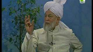 Liqa Ma'al Arab 22 April 1998 Question/Answer English/Arabic Islam Ahmadiyya
