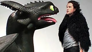 TOOTHLESS Hits JON SNOW! - H๐w To Train Your Dragon 3