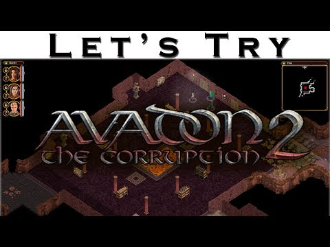 Let's Try - Avadon 2 - Indie Old School RPG Gameplay