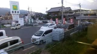 JR西日本117系 側面展望 掖上→高田(和歌山線普通) ヒネSG002編成