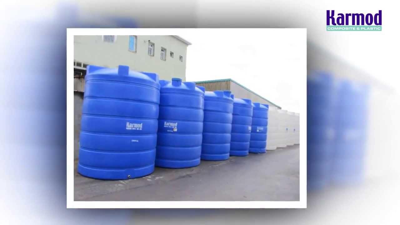 & Water Tanks | Karmod Plastic - YouTube
